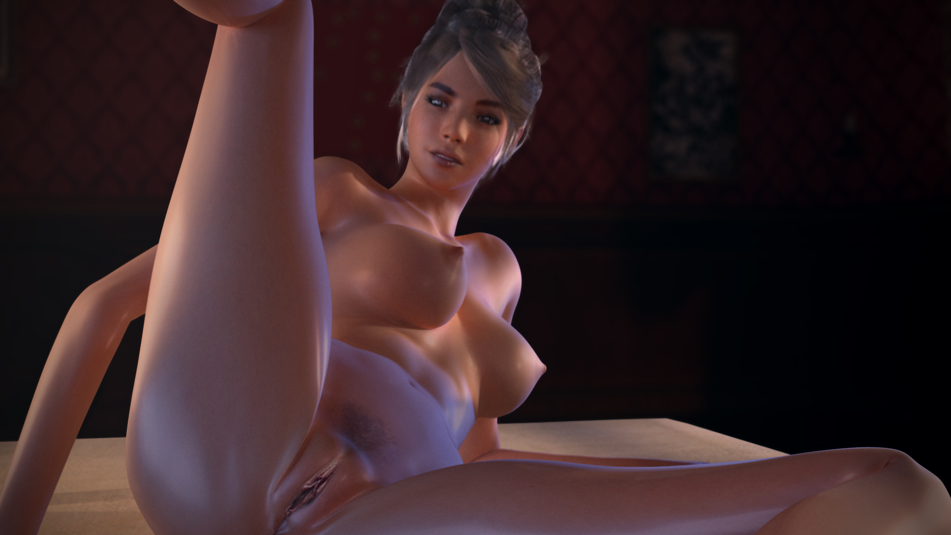 virtual naked girls closeup